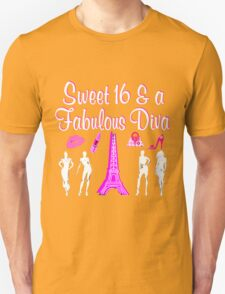 PARIS INSPIRED 16TH BIRTHDAY DESIGN T-Shirt