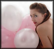 Balloons and Bec  by Hayley Joyce