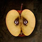 The eyes of my apple  by Alex Preiss