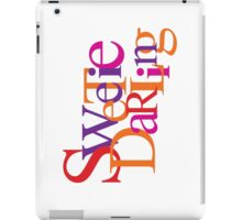 Sweetie Darling iPad Case/Skin