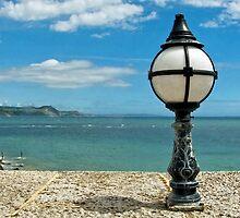 Lighting The Seafront ~ Lyme Regis by Susie Peek
