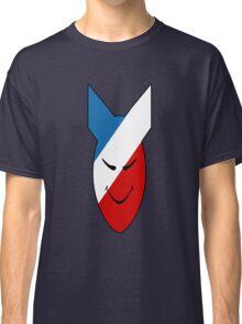 Alien Face Happy Bomb Classic T-Shirt