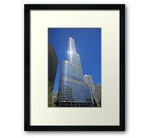 Chicago Skyscraper Framed Print