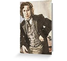 The 8th Doctor Greeting Card