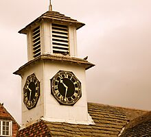 Old Clock Tower Photographic Print
