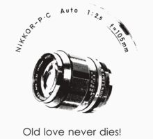 Nikkor 105mm Black Old love never dies! by BKSPicture