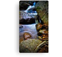 Vibrant Cascade - Near Echo Lake, CO Canvas Print