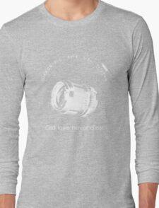 Nikkor 105mm White Old love never dies! Long Sleeve T-Shirt