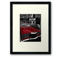 Red & Ready Framed Print
