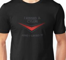 I Kissed a Cylon Unisex T-Shirt