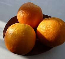 Orange Fruit Bowl by Robert Gipson