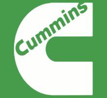 CUMMINS WHITE Baby Tee