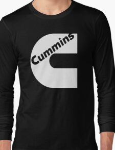 CUMMINS WHITE Long Sleeve T-Shirt