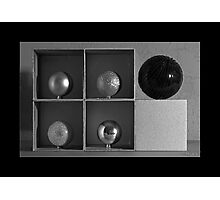 Spheres in Cubes #2 Photographic Print