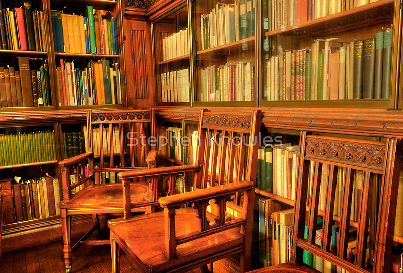 John Rylands Library (HDR) 2 by Stephen Knowles