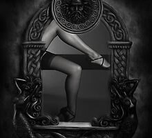 MIRROR MIRROR ON THE WALL... by June Ferrol