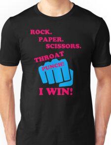 Rock Paper Scissors Unisex T-Shirt