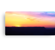 Grand Canyon Sunset In May Canvas Print