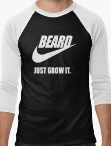 Beard - Just Grow It Men's Baseball ¾ T-Shirt