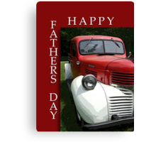 FOR ALL DADS Canvas Print
