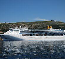 Costa visiting Dubrovnik by julie08