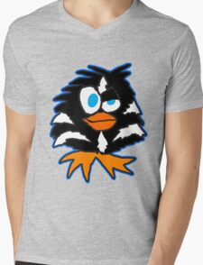 Evil Penguin Mens V-Neck T-Shirt