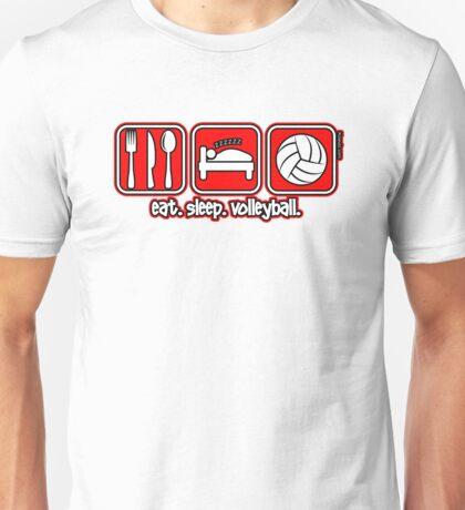 Eat. Sleep. Volleyball. Unisex T-Shirt