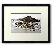 da muckle rock Framed Print