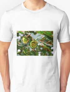 Conker Abstract  Unisex T-Shirt