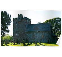 St Johns Church, Newton Arlosh. Cumbria. Poster