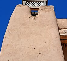 Adobe Church, Detail 4, Truchas, New Mexico by VoxOrpheus