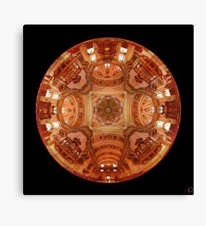 Salzburg Cathedral - 360 HDR - 24 shot Vertorama Canvas Print
