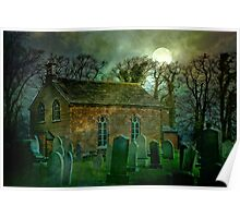 The Old Church at Becconsall Poster