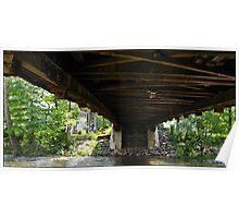 Covered bridge 1 Poster