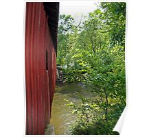 Covered bridge from the side 2 Poster