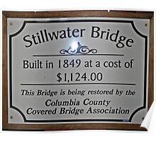 Stillwater Sign Poster