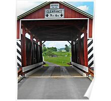 Covered bridge 10 Poster
