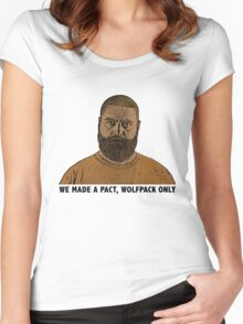 The Hangover 2 movie funny Alan quote wolfpack  Women's Fitted Scoop T-Shirt