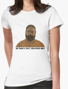 The Hangover 2 movie funny Alan quote wolfpack  Womens Fitted T-Shirt