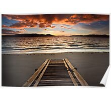 Coningham Beach Boat Ramp #2 Poster