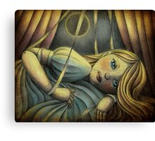The Sleeping Marionette Canvas Print