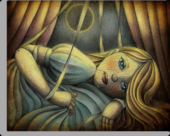 The Sleeping Marionette by Amalia K