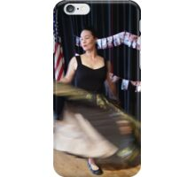 50's dancer onstage iPhone Case/Skin