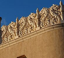 Lensic Theater Detail, SantaFe, New Mexico 2 by VoxOrpheus