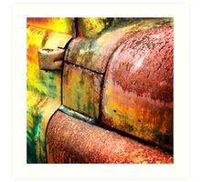 Rust art 5 Art Print