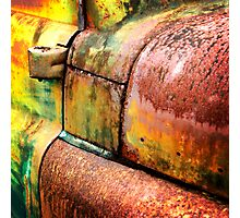 Rust art 5 Photographic Print