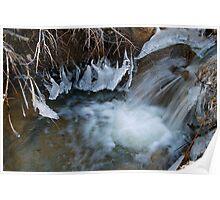 Big Bear Water Flow Poster