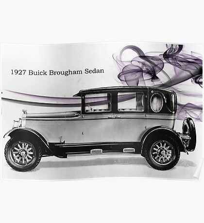 1927 Buick Poster