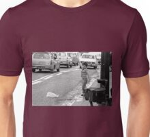 Collector, On the Way to M.Cartier Bresson Paris 1975 20 (b&n)(t) by Olao-Olavia par Okaio Création Unisex T-Shirt