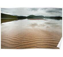 Loch Tulla Ripples Poster